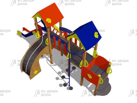 Детский игровой комплекс 015