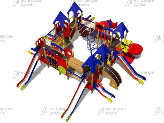 Детский игровой комплекс 014
