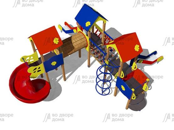 Детский игровой комплекс 018