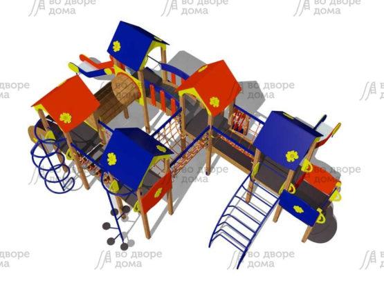 Детский игровой комплекс 143